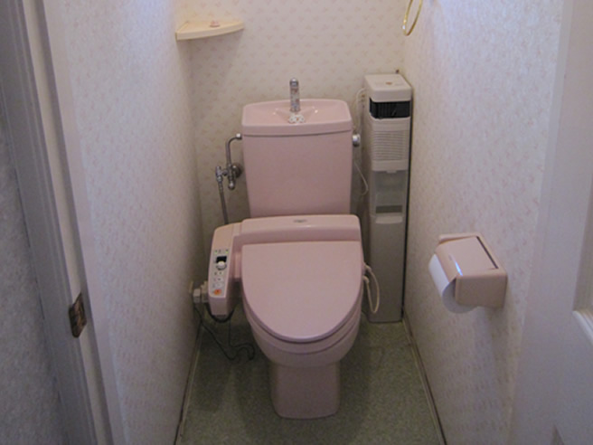 トイレ施工前写真