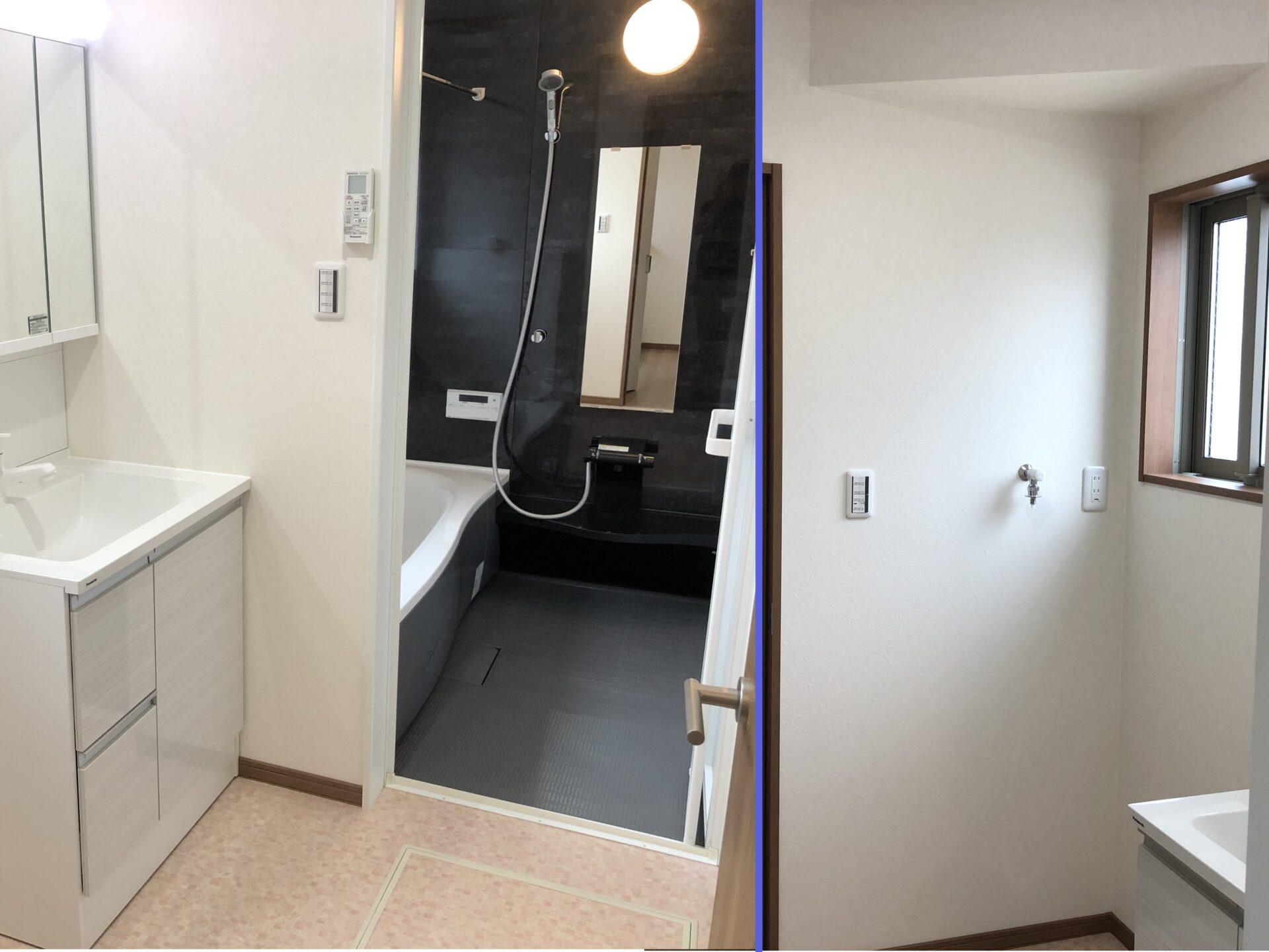 洗面所、浴室